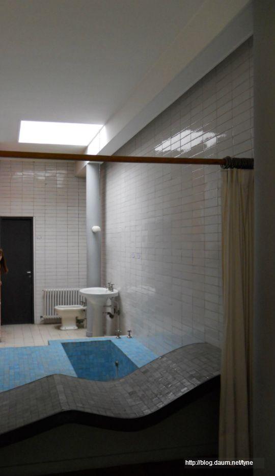 빌라 사보아, 1929 / 르 꼬르뷔지에(Villa Savoye, Le Corbusie) 화장실 클라스보소(Crazy Skylight!!)