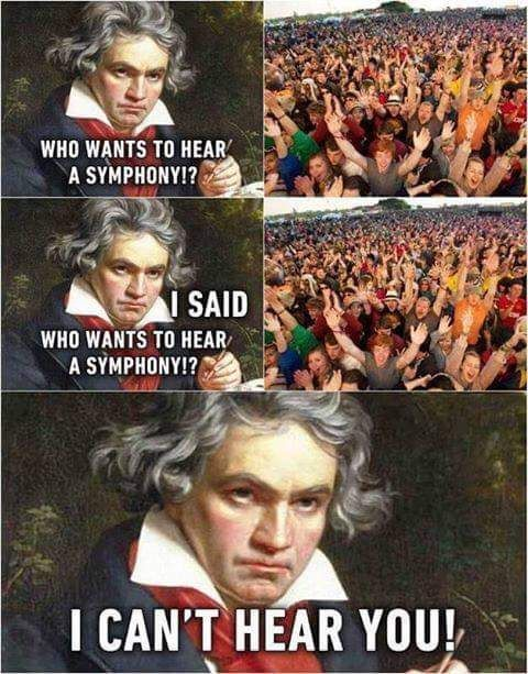 Beethoven does Lollapalooza.