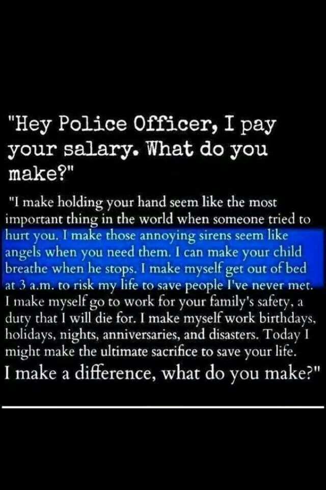 What Police Officers Make Law Enforcement Pinterest