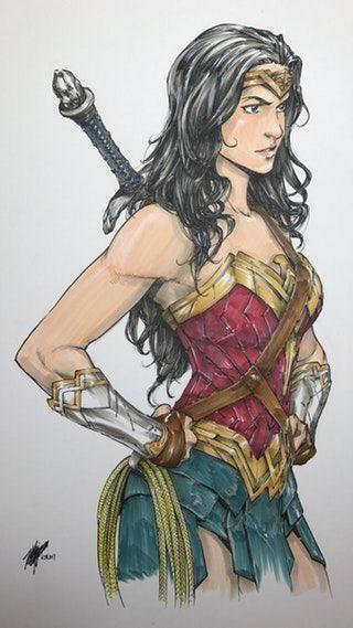 Wonder Woman by Takeshi Miyazawa : comicbooks