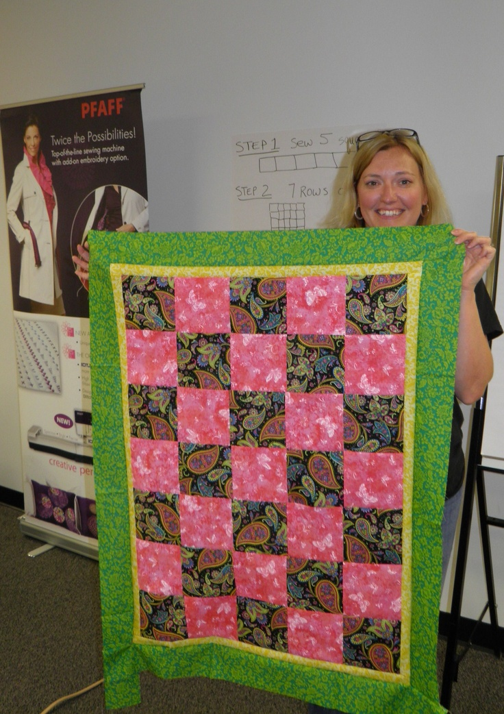 13 best PFAFF® Quilts for Kids - Charity Event images on Pinterest ... : quilting event - Adamdwight.com