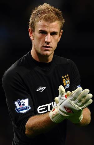 Joe Hart- England goalkeeper