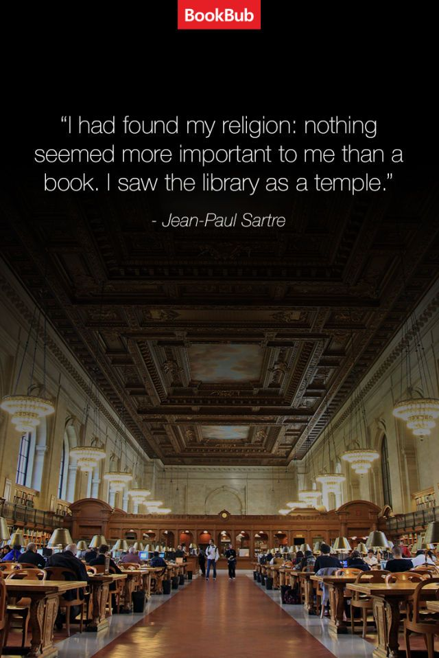 Library = a temple. | 21 Inspiring Quotes About Books