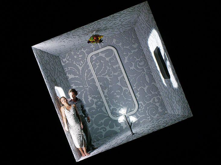 tristan und isolde, barrie kosky, scenography and light: Klaus Grünberg, 2006