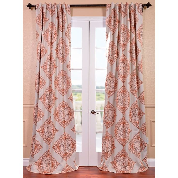 thermal insulated blackout curtain panel pair by i love living
