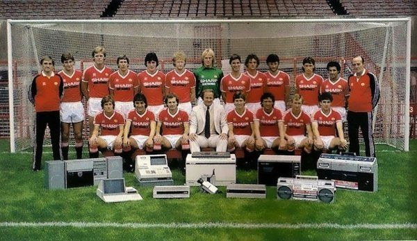 Manchester United's 1982 squad photo might be one of the best team pictures ever