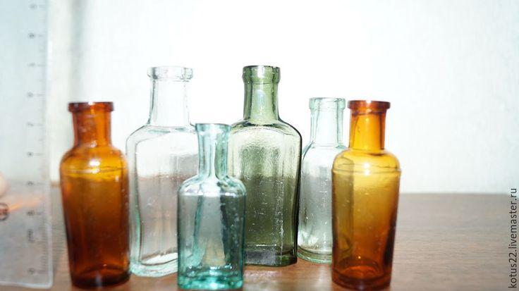 Купить Маленькие бутылочки для реализации творческих идей - бутылочка, бутылка декоративная, бутылочка маленькая