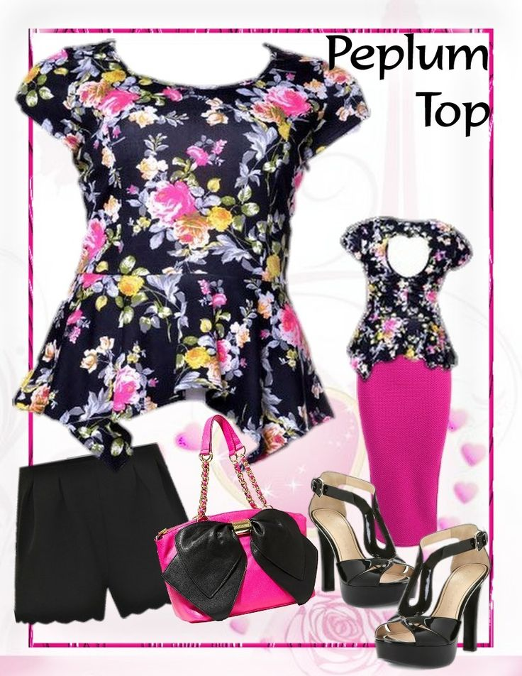City Style Chic - Floral Peplum Top with Heart Cut-out to back, $35.50 AUD.  Free standard shipping with Australia.  (http://www.citystylechic.com.au/new-arrivalsfloral-peplum-top-with-heart-cut-out-to-back)
