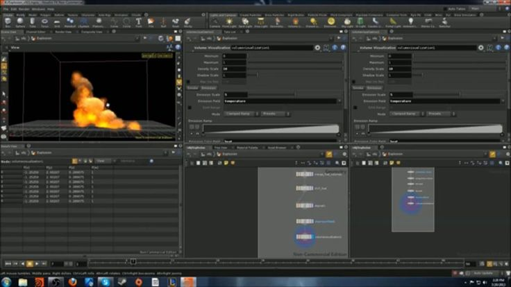 Introduction to Houdini particles and Explosion Integration on Vimeo