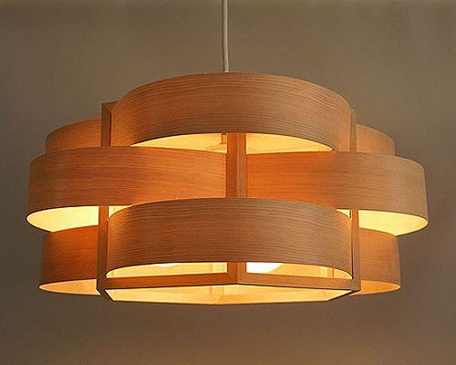 Aoyama Trading | Rakuten Global Market: [Flames] wood flow kiryuu reduced wave style ceiling light wooden lamp lighting fs3gm
