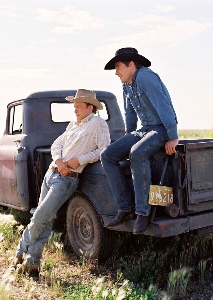 Brokeback Mountain.   Heath Ledger & Jake Gyllenhaal
