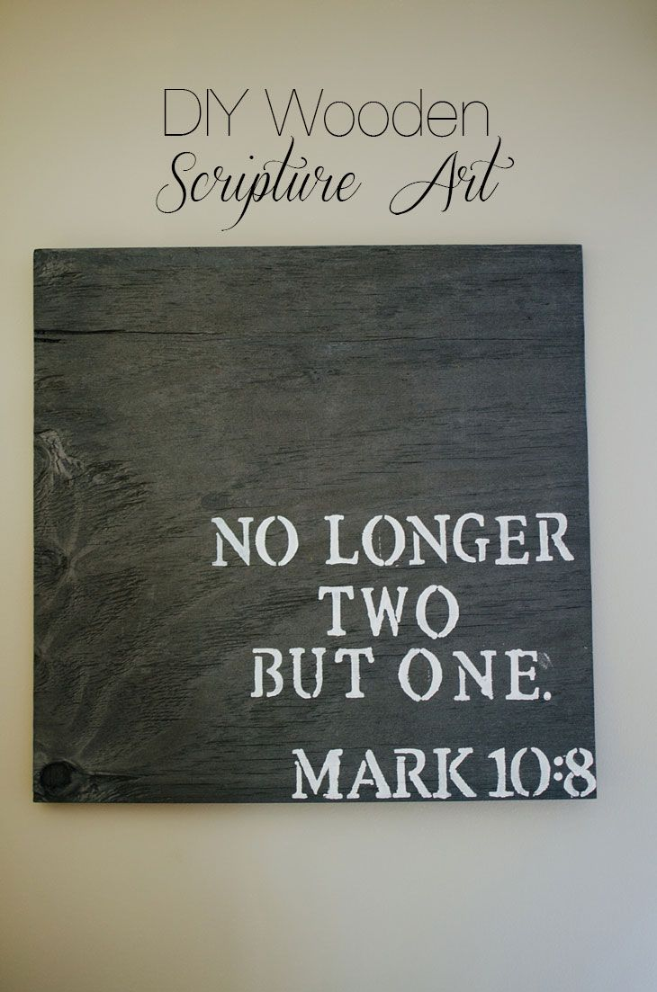 CRAFTING | DIY Wooden Scripture Art (8)