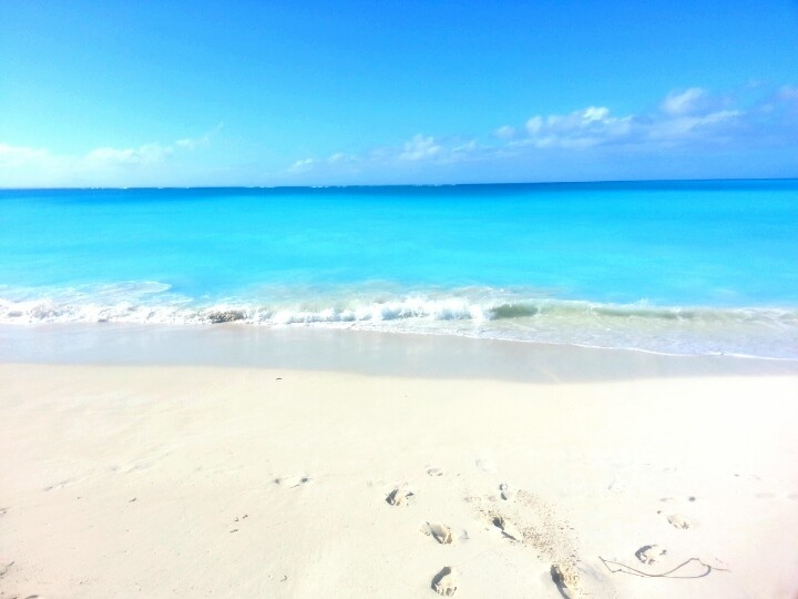 Grace Bay Beach,  Turks & Caicos/ Aqualicious!!!!  It is that beautiful!