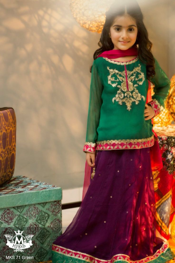 10 Best images about kids pakistani dresses on Pinterest - Eid ...