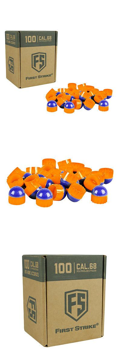 Paintballs 16049: Tiberius Arms First Strike Paintballs - Blue / Orange - Orange Fill - 100 Count -> BUY IT NOW ONLY: $39.95 on eBay!