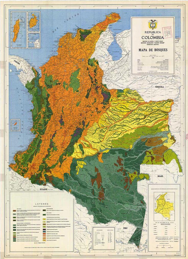 Los Bosques de Colombia