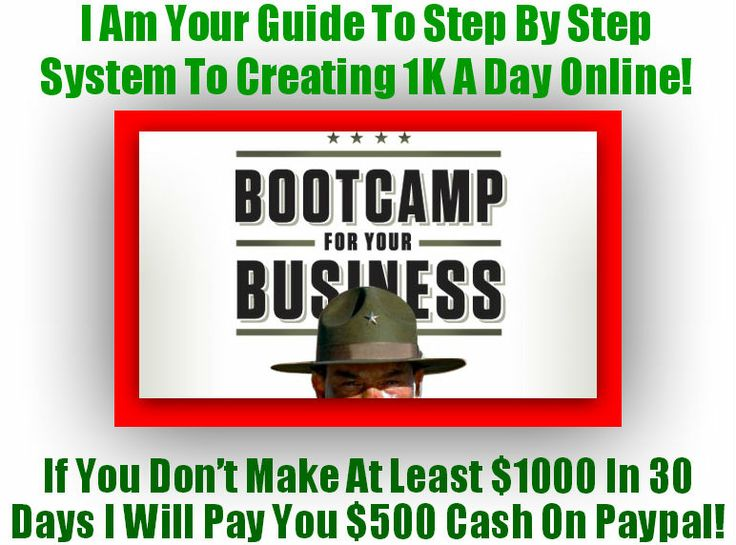[GET] [FREE] Bootcamp Video Course & Ebook Makes You 1k A Day Guaranteed Or I Pay You $500 To Your Paypal!