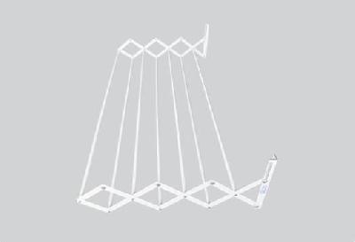 Varal sanfonado 0,40m com 7 varetas