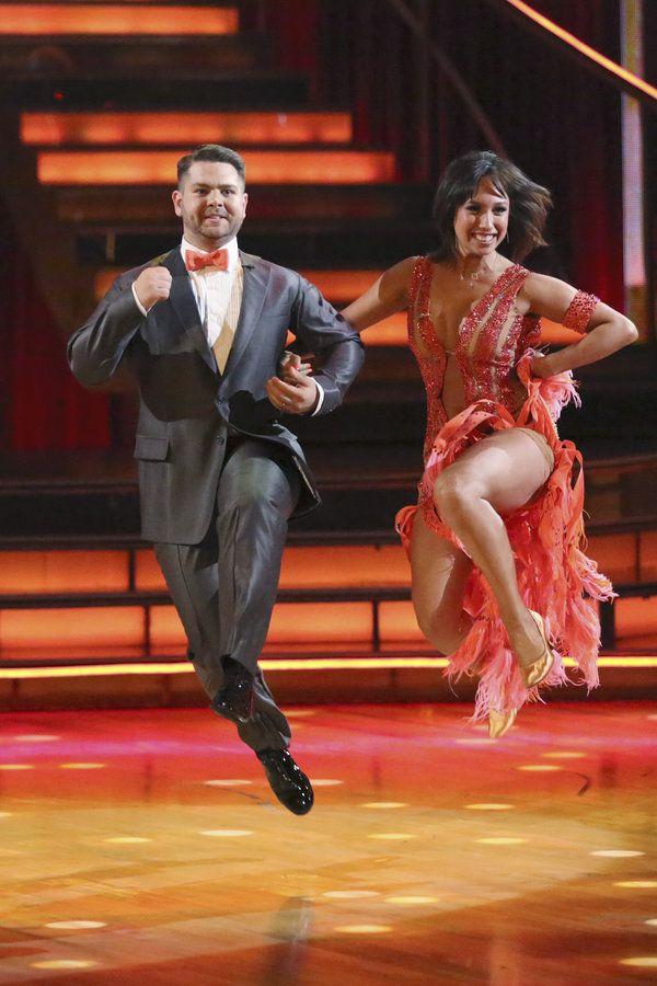 Cheryl Burke & Jack Osbourne...Dancing with the Stars...week 1...season 17...fall 2013  ...  he's giving sister Kelly a run for her money.