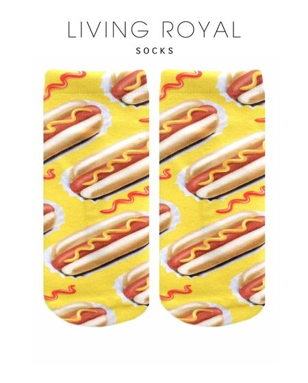 Hot Dog these socks are amazing!