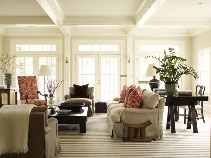 Roch Chase Interiors Desk Behind Sofa Find This Pin And More On New England Style