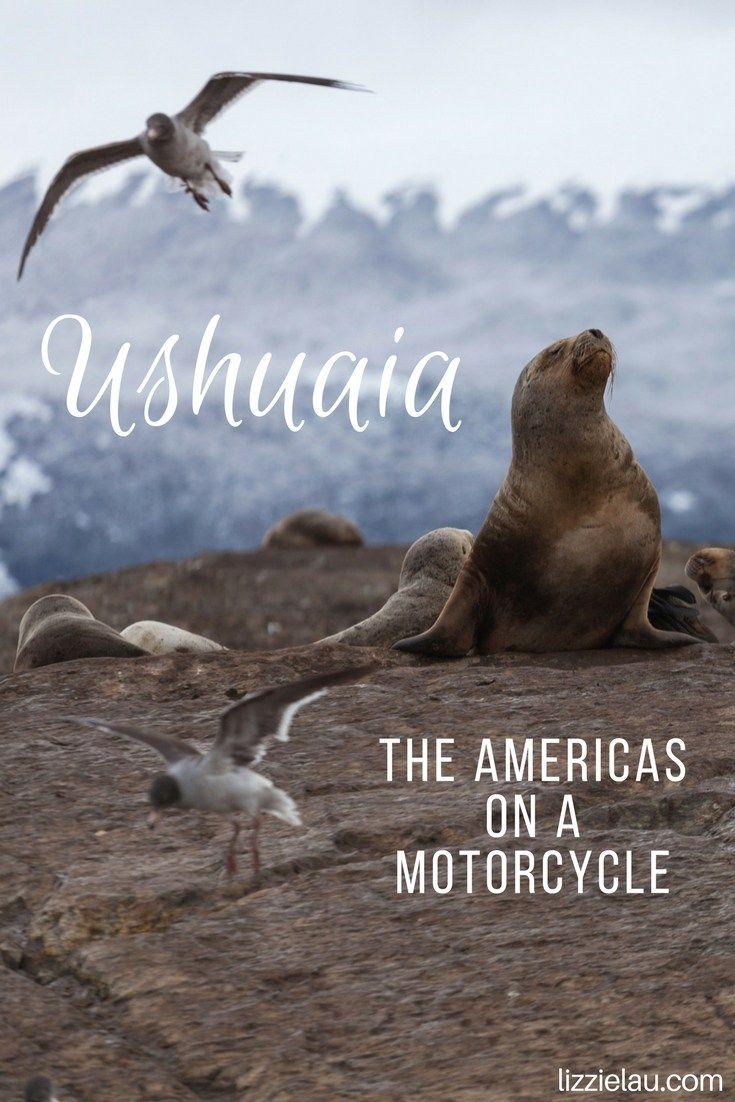 Ushuaia - The Americas on a Motorcycle   Argentina #travel #adventuretravel