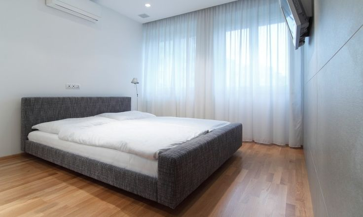 kleines Nest Schlafzimmer Design kleinen slowakischen Wohnung verbessert mit LED Beleuchtung von vorgestellt Rudolf Lesňák