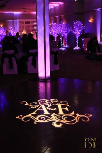 Transparency GOBO is what we want for monogram so we can use their projector!