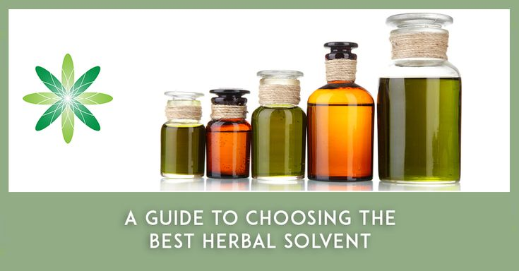 When using botanicals in skincare, you'll want to use solvents to extract the properties of your favourite herbs. Harness the benefits of potent therapeutic herbs in your organic skincare formulations by using the right herbal solvent.