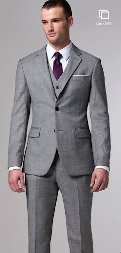 Grey Suit Matching Shirt