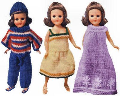 Knitting Patterns For 7 Inch Dolls : 17 Best images about Single - Dolls, Clothes Knitting ...
