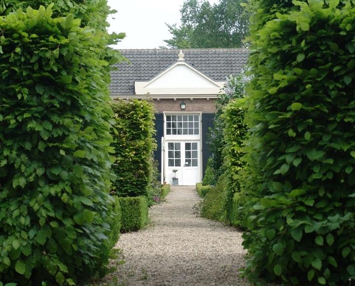 Garden at Castle Amerongen