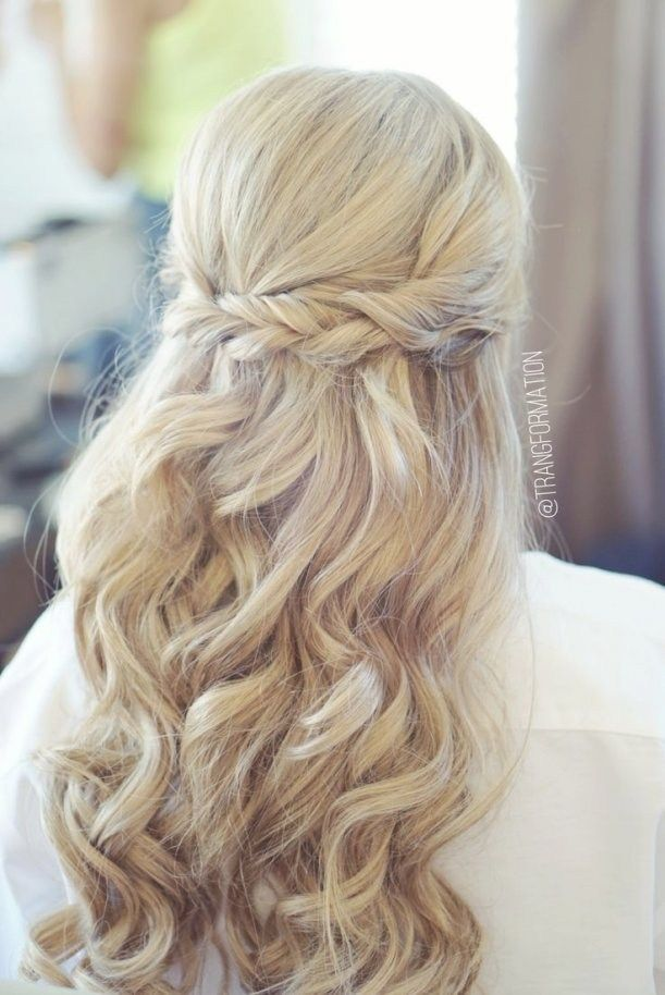 Half Up Half Down Hairstyles For Wedding Guest Best Inspiration Prom Hair Down Hair Styles Long Hair Styles