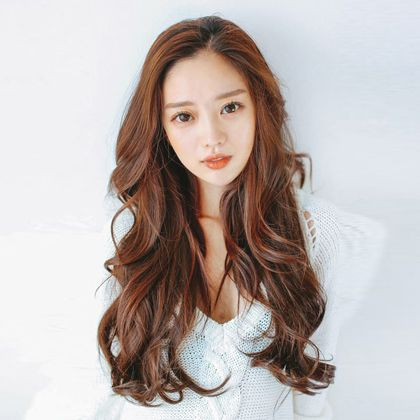 Hairstyles For Long Asian Hair : Best 25 digital perm ideas on pinterest straight hair