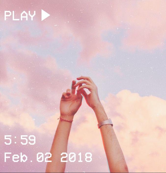 M O O N V E I N S 1 0 1 #vhs #aesthetic #pastel #hands #pink #glitter