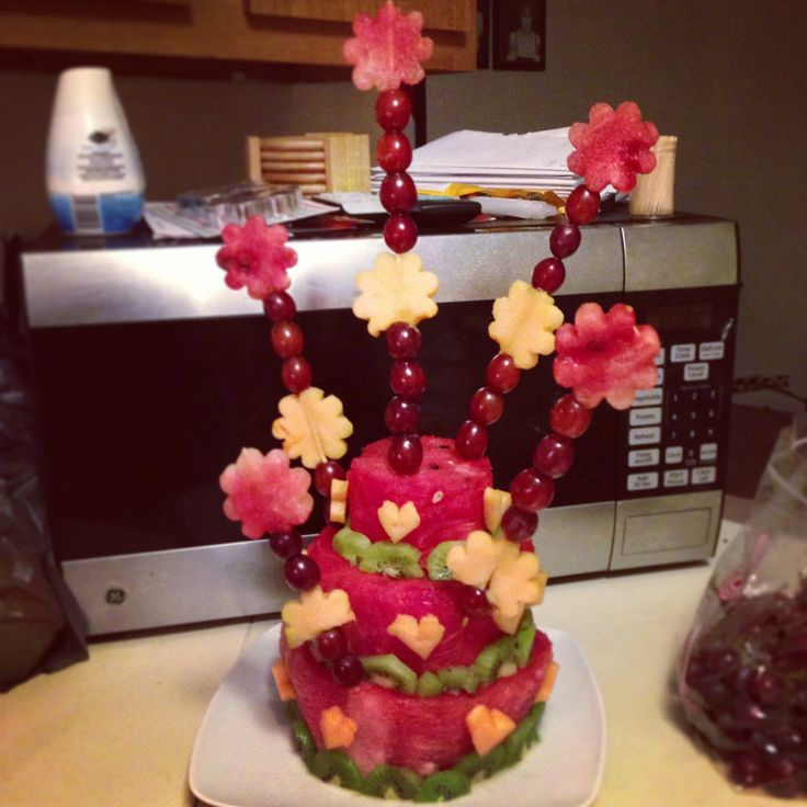 Non Conventional Healthy Birthday Cake Ideas 61950 Fruit C