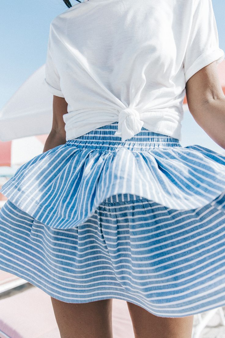 Summer Skirt | Pinterest: heymercedes