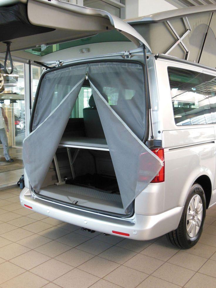 Vw Campervan Accessories >> Mosquito Insect Midge Net Curtain For Volkswagen T5 Rear Door