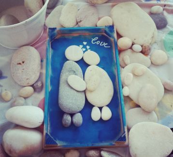 Pebble Art- Love