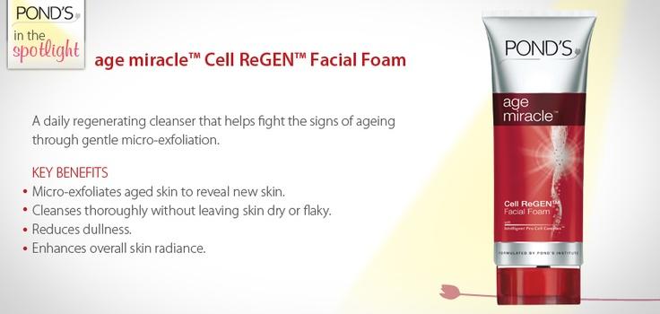age miracle Cell ReGEN Facial Foam