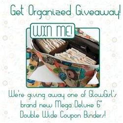 Get Organize Giveaway! Win a GlowGirl Coupon Organizer