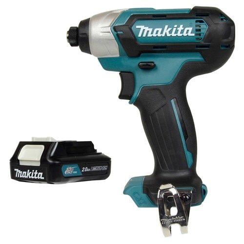 Makita Tools DT03 12V Cordless Impact Driver & BL1021B 12V Li-Ion Battery