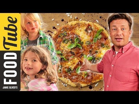 Quick Family Pizza | Jamie, Petal & Buddy Oliver - YouTube