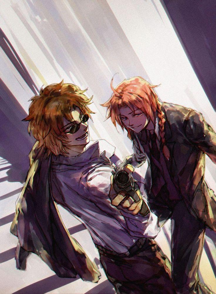 Sakamoto & Kamui. Gintama