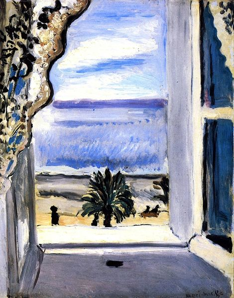 3356 best art images on pinterest christmas cards for Matisse fenetre ouverte
