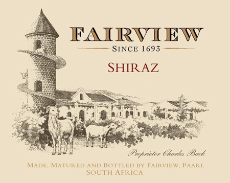 Neil and I went to Fairview in Paarl, South Africa back in 2005... Wonderful vineyard, scrumptious wine!