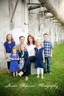 Family Pictures at Old Katy Rice Silos
