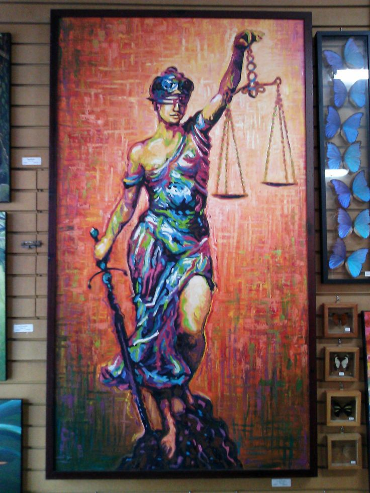 lady justice wall art - photo #4