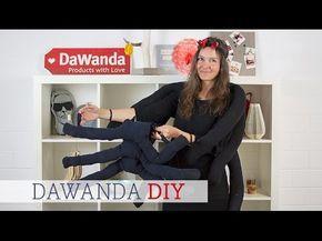 DaWanda DIY: Kostüm Spinne selber machen - YouTube