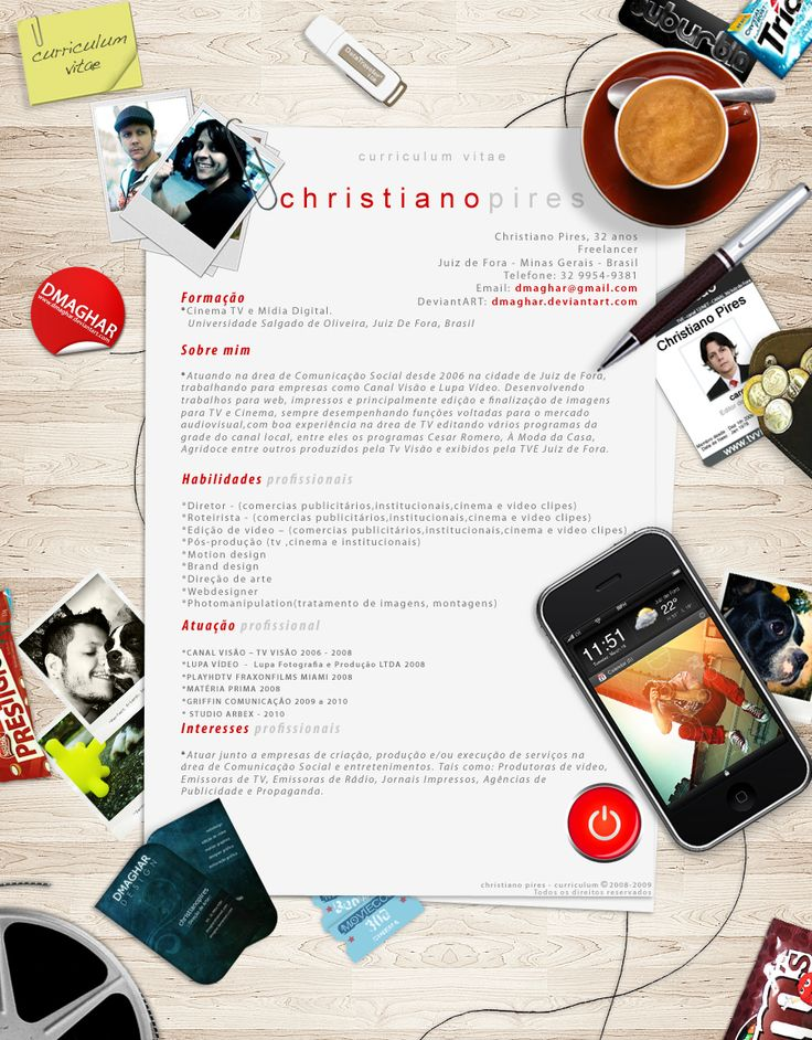 47 best cv images on Pinterest Architecture, Books and Graphics - video resume